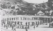 ストーム節の練習風景(昭和28年)
